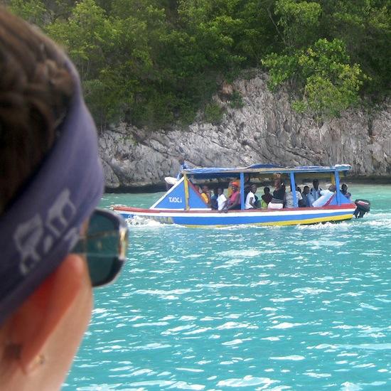 Haiti Water Taxi